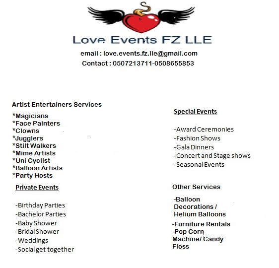 Love Events FZ LLE